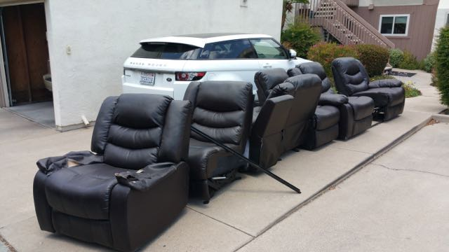 Sectional Couch Removal Service